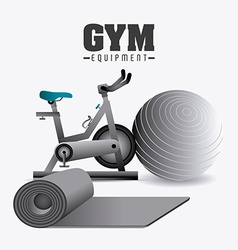 GYM design vector image