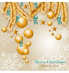 Merry Christmas elements background EPS10 file vector image