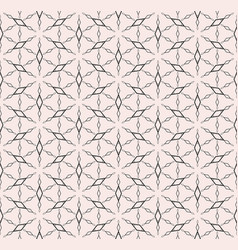Rhombuses geometric pattern monochrome seamless vector