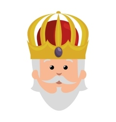 wise man epiphany manger character vector image
