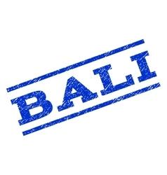 Bali watermark stamp vector