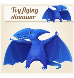 Toy flying dinosaur 7 Cartoon vector image