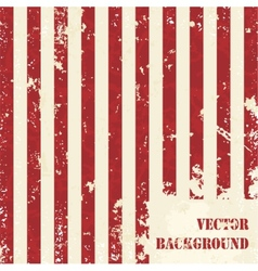 Abstract striped grunge background vector image vector image