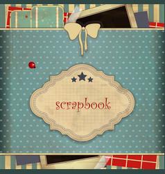 Scrapbook vector