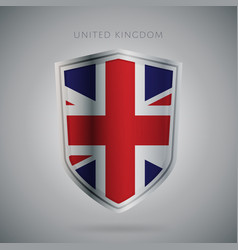 Europe flags series united kingdom icon vector