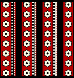 Fabric pattern seamless background images vector