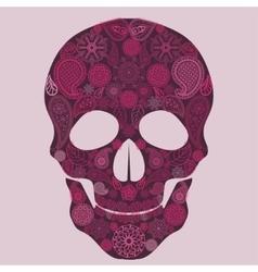 Floral skull Ornate vector