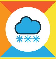 freeze colorful outline symbol premium quality vector image