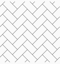 Herringbone parquet seamless pattern vector