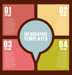 Infographic templates design vector