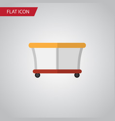 Isolated playpen flat icon playground vector