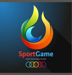 Sport game event vector