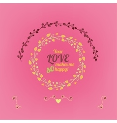 Valentine love card 01 A vector image