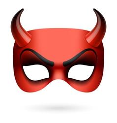 Mask Devil vector image