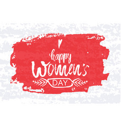 happy international women s day on march 8th vector image vector image