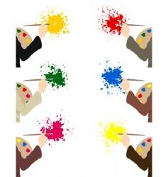 artist2 vector image