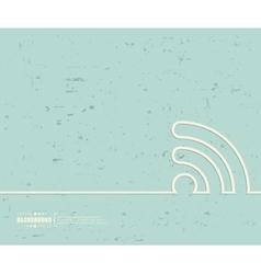 Creative wireless Art vector