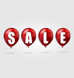 Sale balloons vector