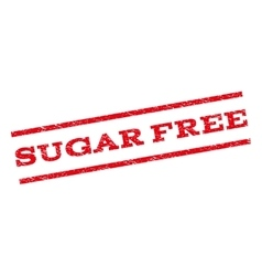 Sugar Free Watermark Stamp vector
