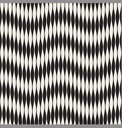 wavy stripes seamless pattern retro wavy vector image