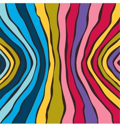 Abstract striped colorful background vector image vector image