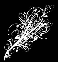 graphic bloom vector image