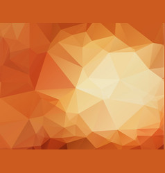 abstract geometric orange background with vector image