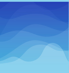 Blue water wave concept abstract background vector
