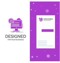 business logo for account profile report edit vector image