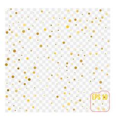 gold glitter corners for frame or border vector image