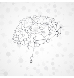 Molecular structure in form brain vector