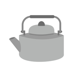 Old Style Kettle vector image