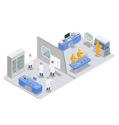 Pharmaceutical production department composition vector