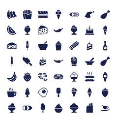 Tasty icons vector