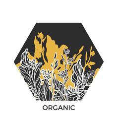 Template organic 2 vector