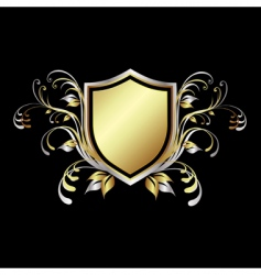 shield design element vector image vector image