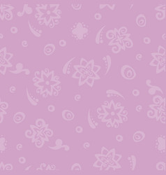 Seamless pattern violet background vector