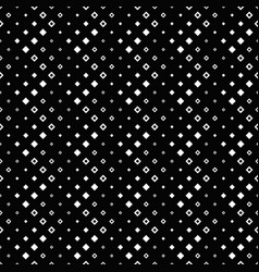 black and white seamless abstract square pattern vector image