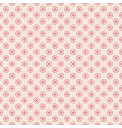 Floral seamless pattern tiling vector image