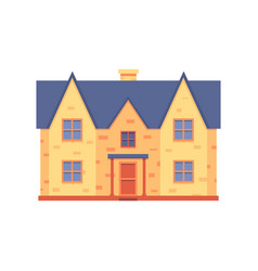 House renovation after repair work icon vector