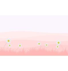 Landscape of spring backgrounds vector