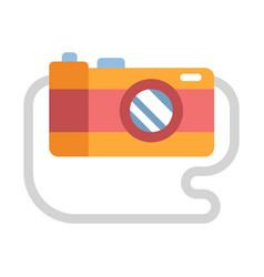 Photograph flat vector