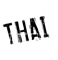 Thai stamp rubber grunge vector image