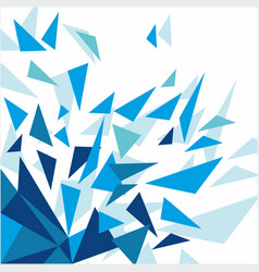 abstract geometric mosaic light background vector image