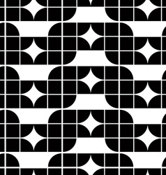 Abstract geometric seamless pattern contrast vector