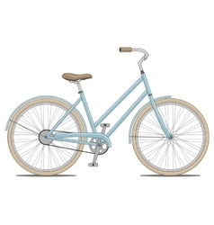 Blue Bike vector
