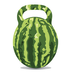 Comfortable water-melon vector