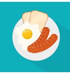 Fresh and delicious sausages bbq designs vector