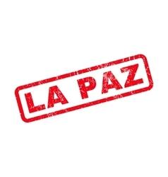 La Paz Rubber Stamp vector