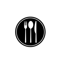 menu icon black vector image